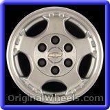 Chevrolet Astro Van 2005 Wheels & Rims Hollander #5073 #Chevrolet #AstroVan #ChevroletAstroVan #2005 #Wheels #Rims #Stock #Factory #Original #OEM #OE #Steel #Alloy #Used