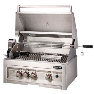 """Check out the Sunstone Grills SUN3B-IR Infrared 3 Burner 28"""" Built-In Gas Grill"""