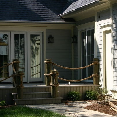 Rope Porch Railing Google Search Deck Rail