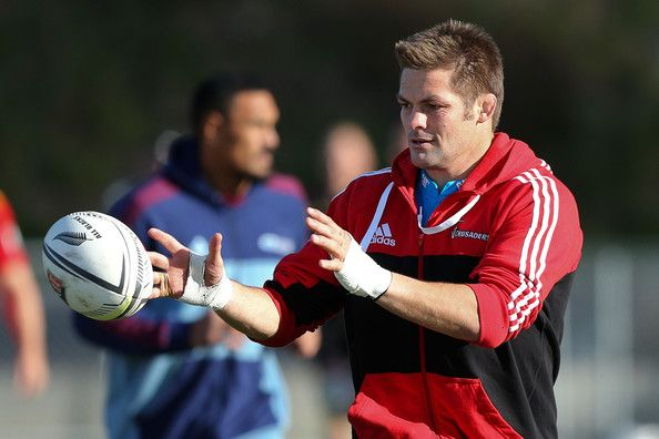 Richie Mccaw - New Zealand All Blacks Wider Training Group Camp Training Session
