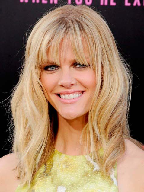 How to Find the Best Hairstyle with Bangs for You  Brooklyn Decker's Best Hairstyle with Bang