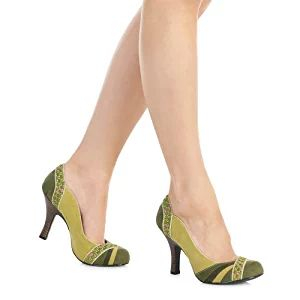 HEATHER (Moss Green) by Ruby Shoo - Size 3/36