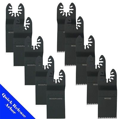 10 Blade Oscillating Multi Tool For Fein Porter Cable Dremel Bosch Milwaukee
