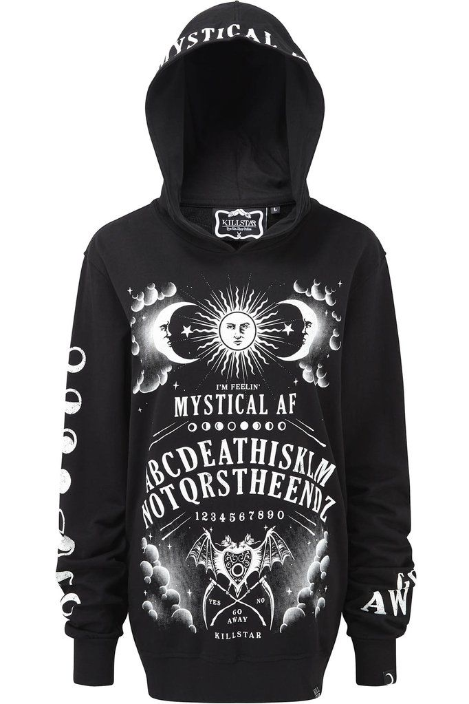 Not The End Hoodie B Killstar The Spirit World May Be Closer Than