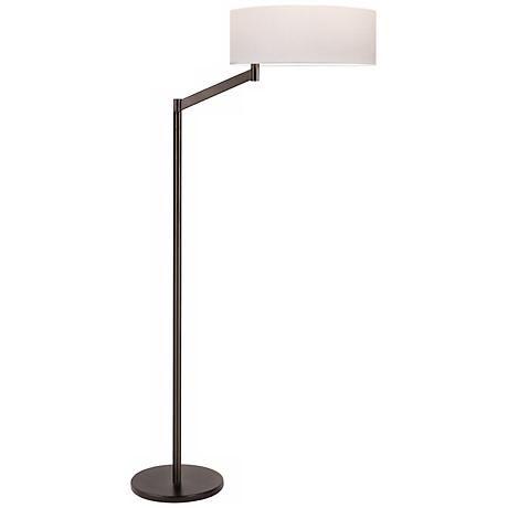 Sonneman Perch Coffee Bronze Floor Lamp