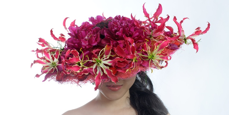 """Gloriosa. The book """"Floral experiments"""" (2012)."""