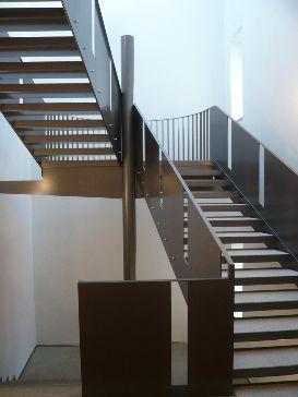 Stahltreppe Gallant Architekten - Aktuell