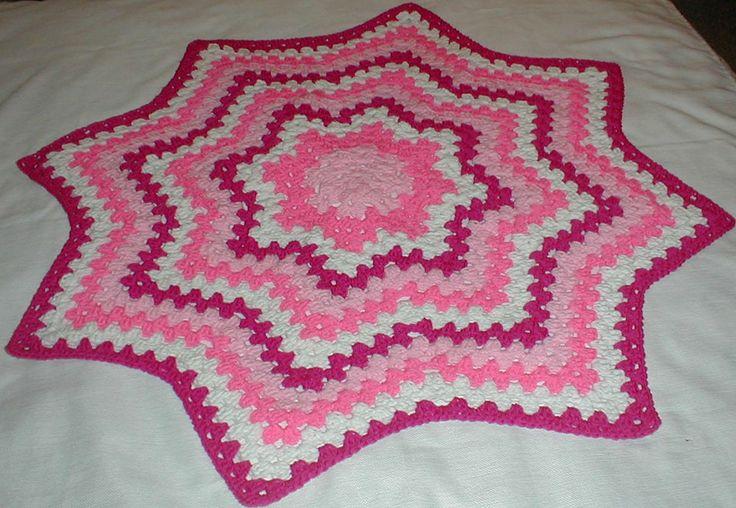 Mejores 936 imágenes de Crochet round ripple en Pinterest | Patrones ...