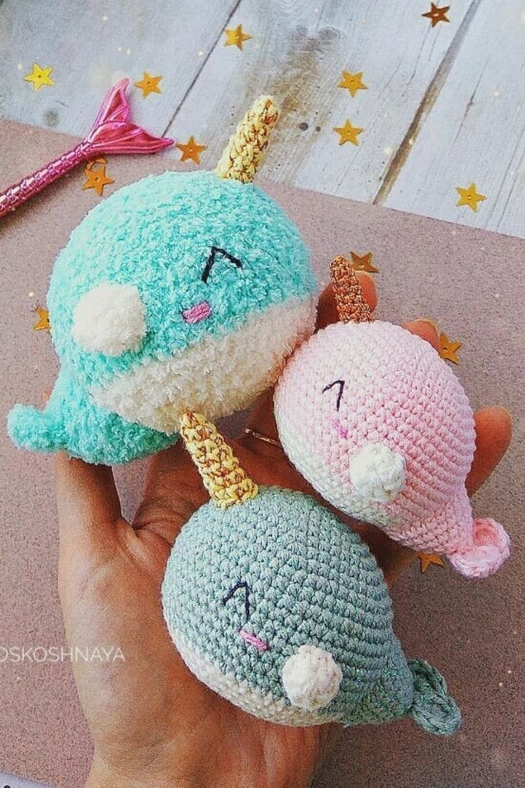 Whale/narwhal pattern - Crochet creation by The Merino Mermaid ... | 1104x736
