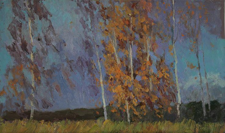 Титенков Владислав. Этюд. Осень. 2014 Titenkov Vladislav. Etude. Autumn. 2014