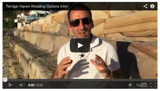 Wedding Reception Venues and Wedding Photography at Terrigal Haven on the Central Coast