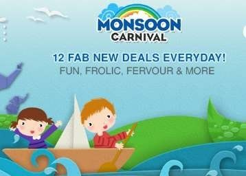 Firstcry is offering Monsoon Carnival Sale + Extra 10% Paytm Cashback How to catch the offer: Click here for offer page AddProduct in your cart Login or Register Fill the shipping details Make final payment