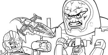 justice league doom coloring pages - photo#9