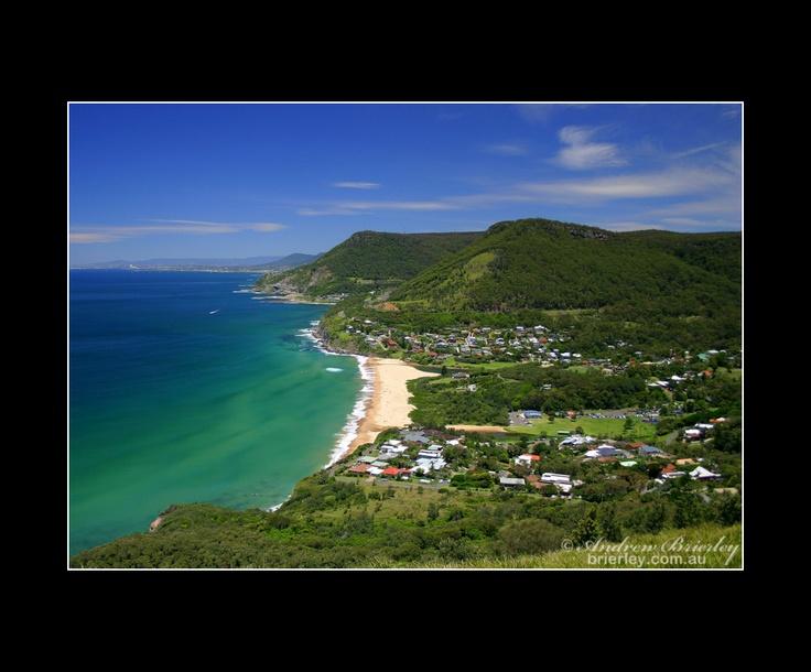 Bald Hill overlooking the Illawarra South Coast of NSW, Australia