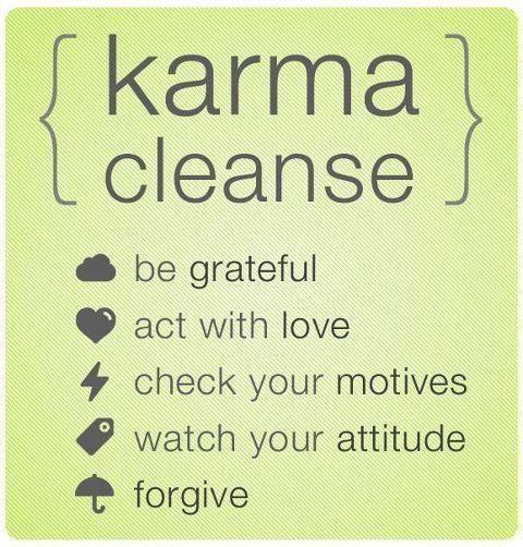 Good karma points
