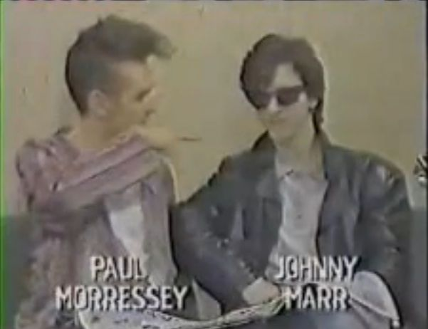 Watch The Smiths Morrissey and Johnny Marr being interviewed by school kids in 1984 [Video] #thesmiths #morrissey #johnnymarr