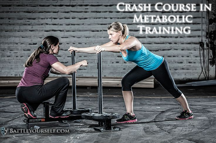 Crash Course in Metabolic Training. Learn about Metabolic Training and how amazing and effective it is in burning fat and dropping those inches where you need it.