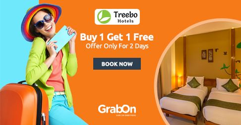 Get FREE Night Stay Only #TreeboHotels. Book 1 Night & Get 1  Absolutely Free. http://www.grabon.in/treebohotels-coupons/ #SaveOnGrabOn