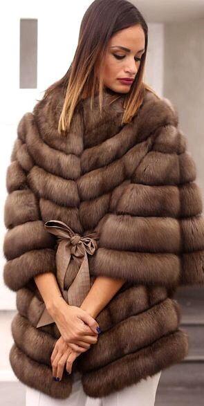 Russian Sable Fur Jacket