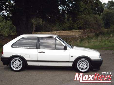 Polo Coupe G40 On 15 Golf Mk2 Gti Bbs Rims Volkswagen
