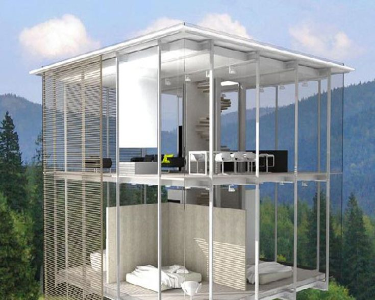 modern transparent glass house design ideas | humble abode