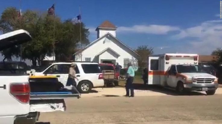 At least 20 people have been killed in a church shooting in Sutherland Springs, Texas, according to Wilson County Sheriff Joe Tackitt.