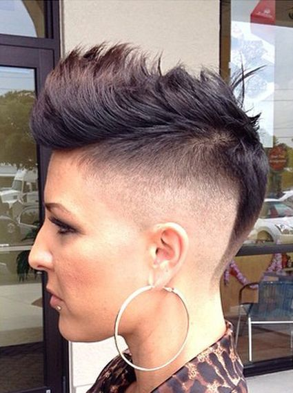 1000 Images About Mohawk Hairstyles For Women On