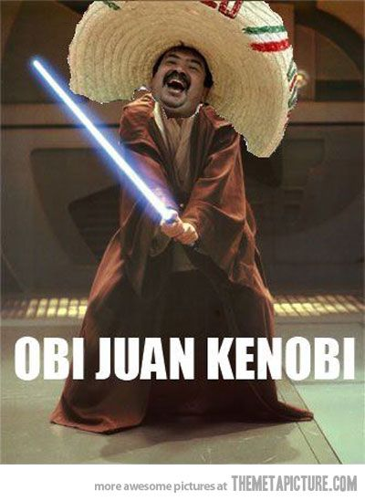 The force is strong with this Juan