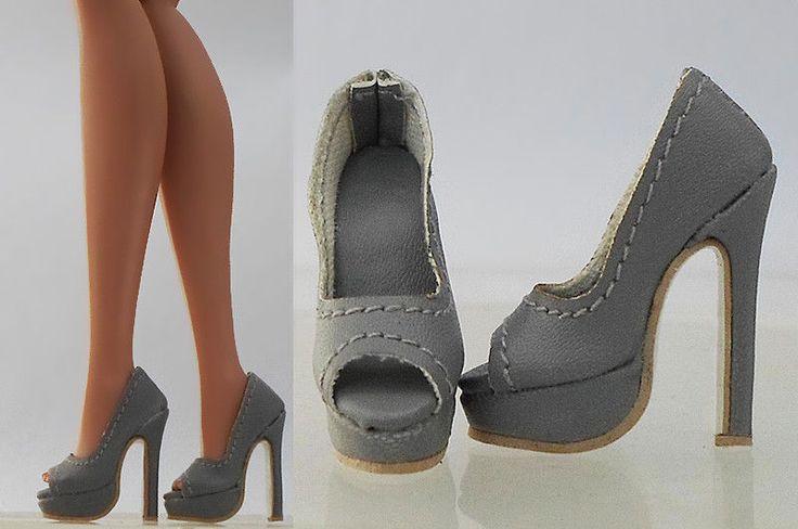Doll Shoes Sandals for New Fashion Royalty FR2 Poppy Parker, DG, Momoko(4-FR2-11