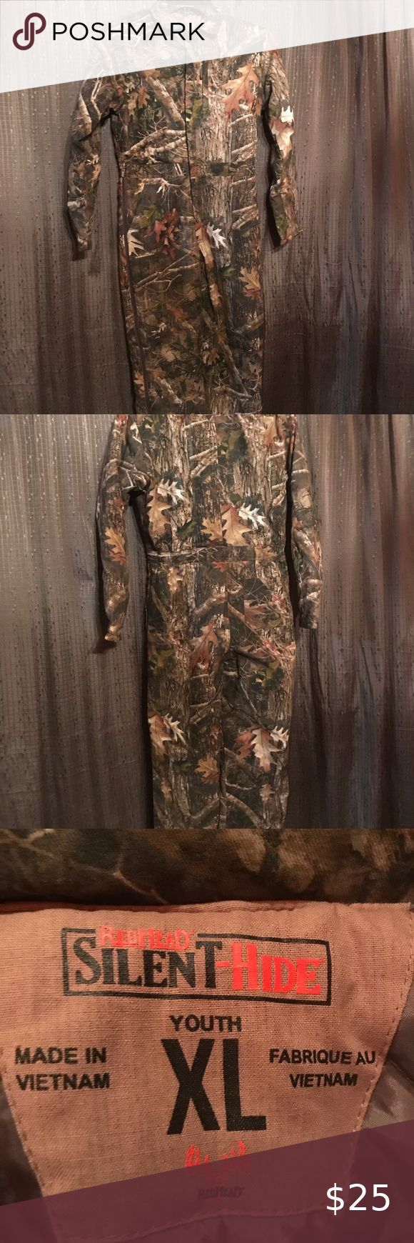 redhead youths xl camo insulated coveralls in 2020 on insulated overalls id=39156