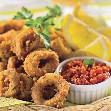 Calmars frits à l'italienne - Recettes - Cuisine et nutrition - Pratico Pratique