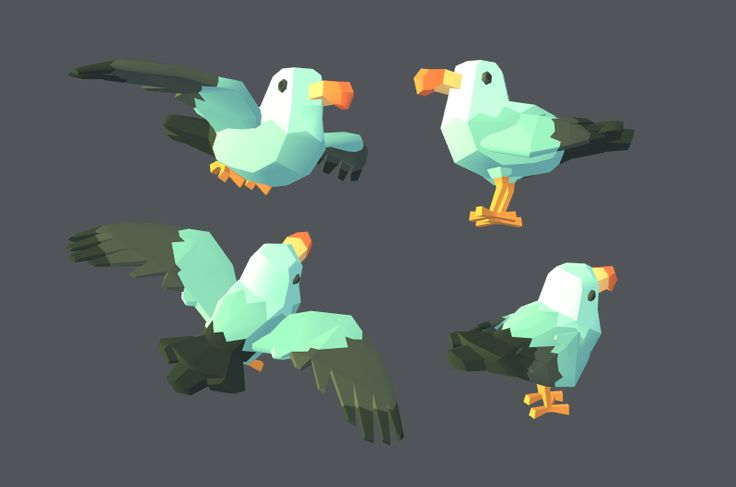 Kay I'm finally done with these seagulls I think, sans hat version :)