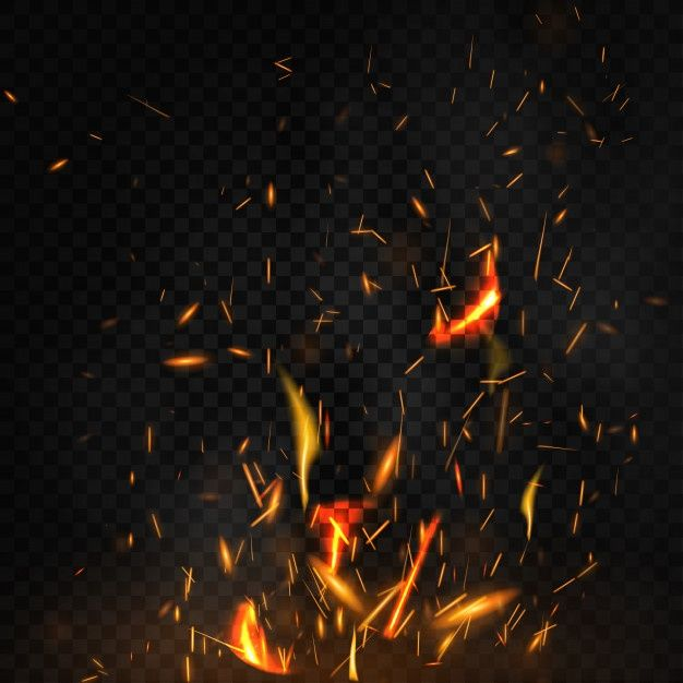 Download Fire Sparks Glowing Effect In The Dark For Free Vector Free Light Background Images Free Background Photos