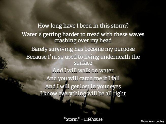 Lifehouse - Hurricane Lyrics | MetroLyrics