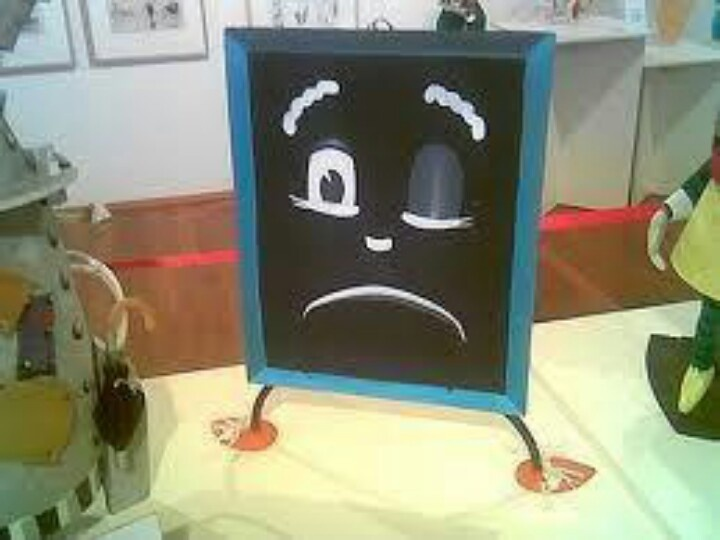 Mr Squiggles blackboard!