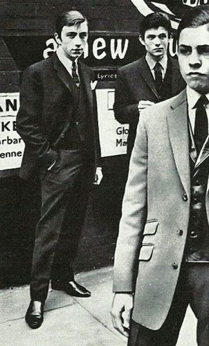 Hackney Boys - 60s Mods Slick.Before being a glam rock icon, Marc Feld aka Marc Bolan was a Mod