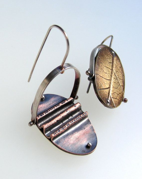210 best Jewelry - Fold Formed images on Pinterest | Copper ...