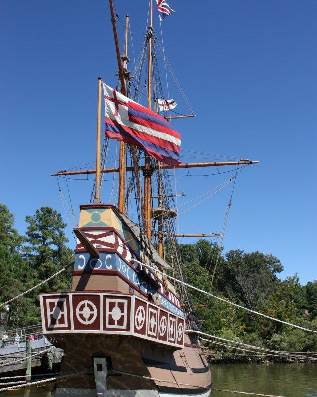 The Jamestown Settlement in Virginia