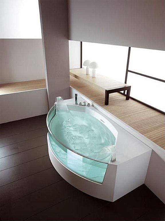 108 best Design | Bathtubs images on Pinterest | Bathroom, Soaking ...