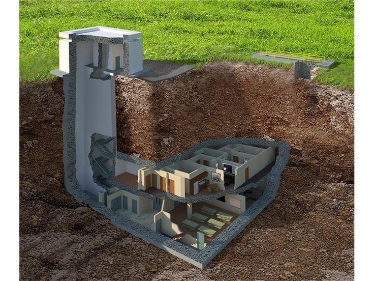 build underground bunker uk