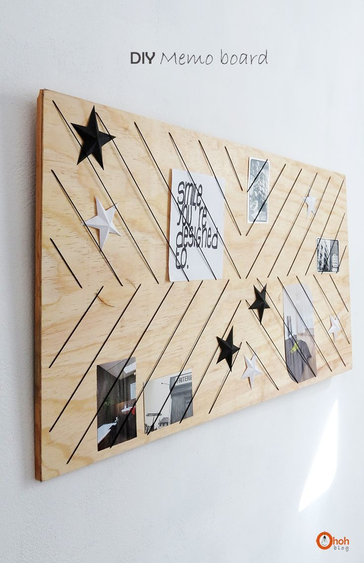 Ohoh Blog - diy and crafts: DIY Memo board