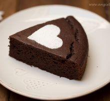 Gaštanovo-čokoládový koláč bez múky