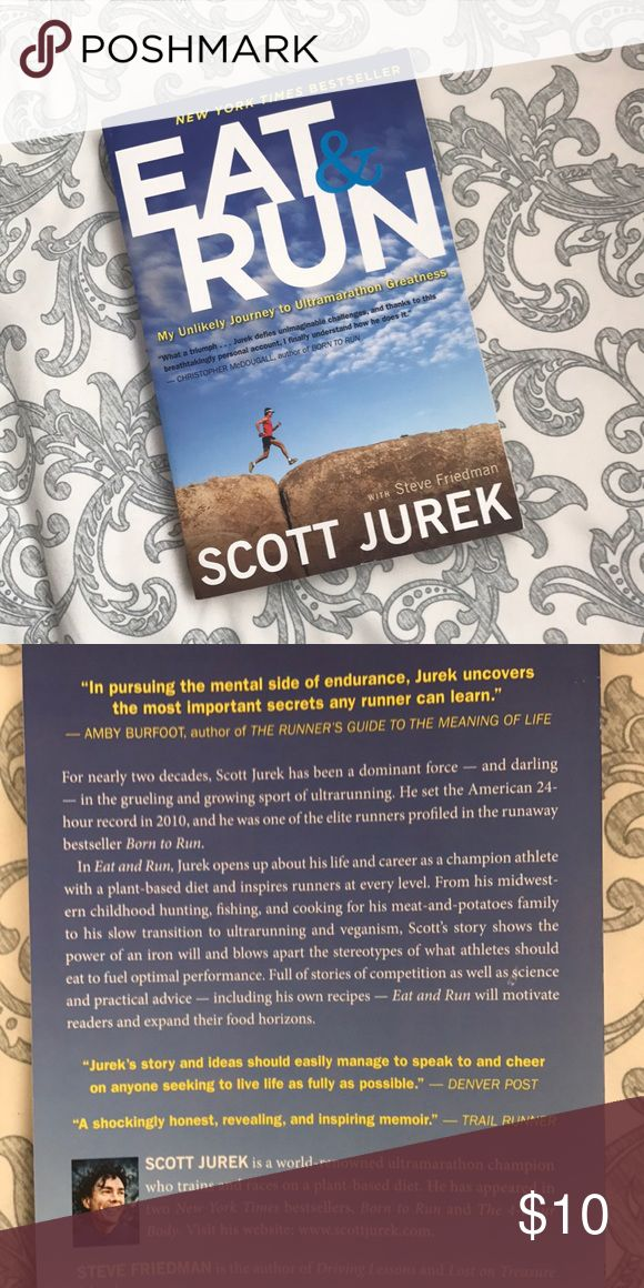Eat and Run by Scott Jurek An amazing book about a man's journey into ultrarunning greatness all on a plant based diet! One of my favorite running books I have read :) Salomon Other