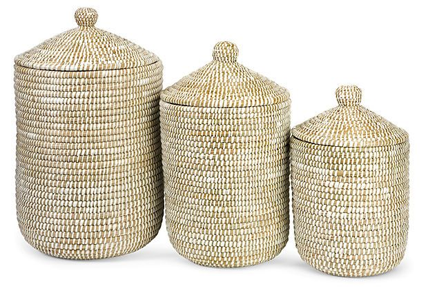 S/3 Aria Sea Grass Baskets on OneKingsLane.com, $95