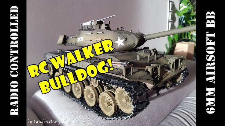 RADIO CONTROLLED M41A3 Walker Bulldog from Torro-Shop! [Sponsored]