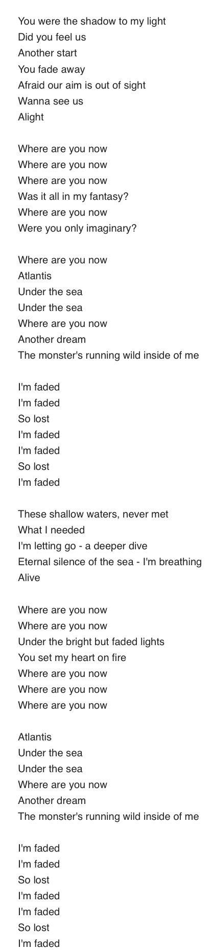 Faded-Alan Walker♥️