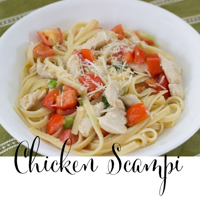 Chicken Scampi Recipe Very Few Ingredients And Super Delicious