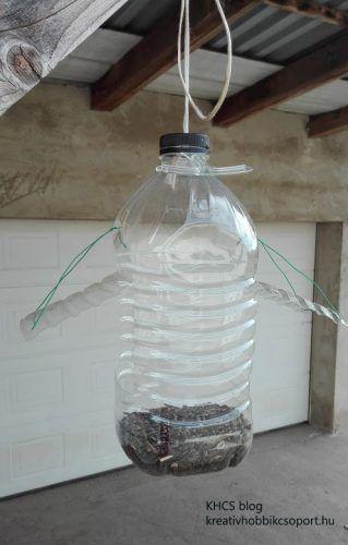 Madáretető PET-palackból - Kreatív Hobbik Csoport
