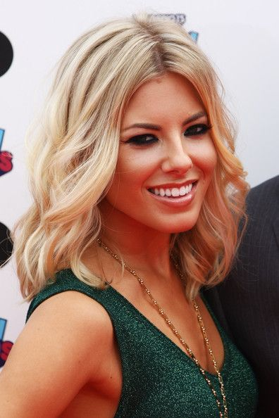 Mollie King Hair long on for AFTER thewedding