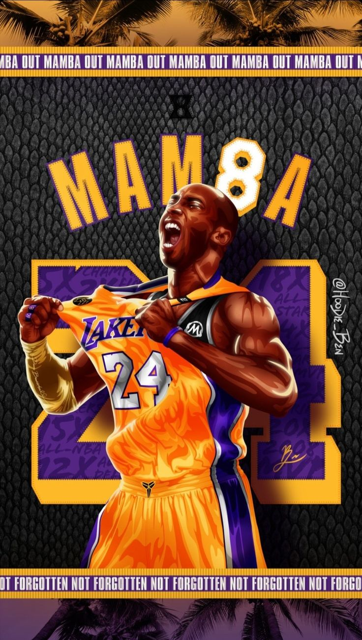 Kobe Bryant wallpaper in 2020 Kobe bryant pictures, Kobe